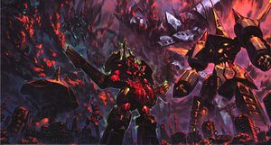 Rating: Safe Score: 12 Tags: illustration tengen_toppa_gurren_lagann yoh_yoshinari User: Xmax360
