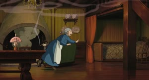 Rating: Safe Score: 11 Tags: animated atsuko_tanaka character_acting effects howl's_moving_castle smoke User: NotSally