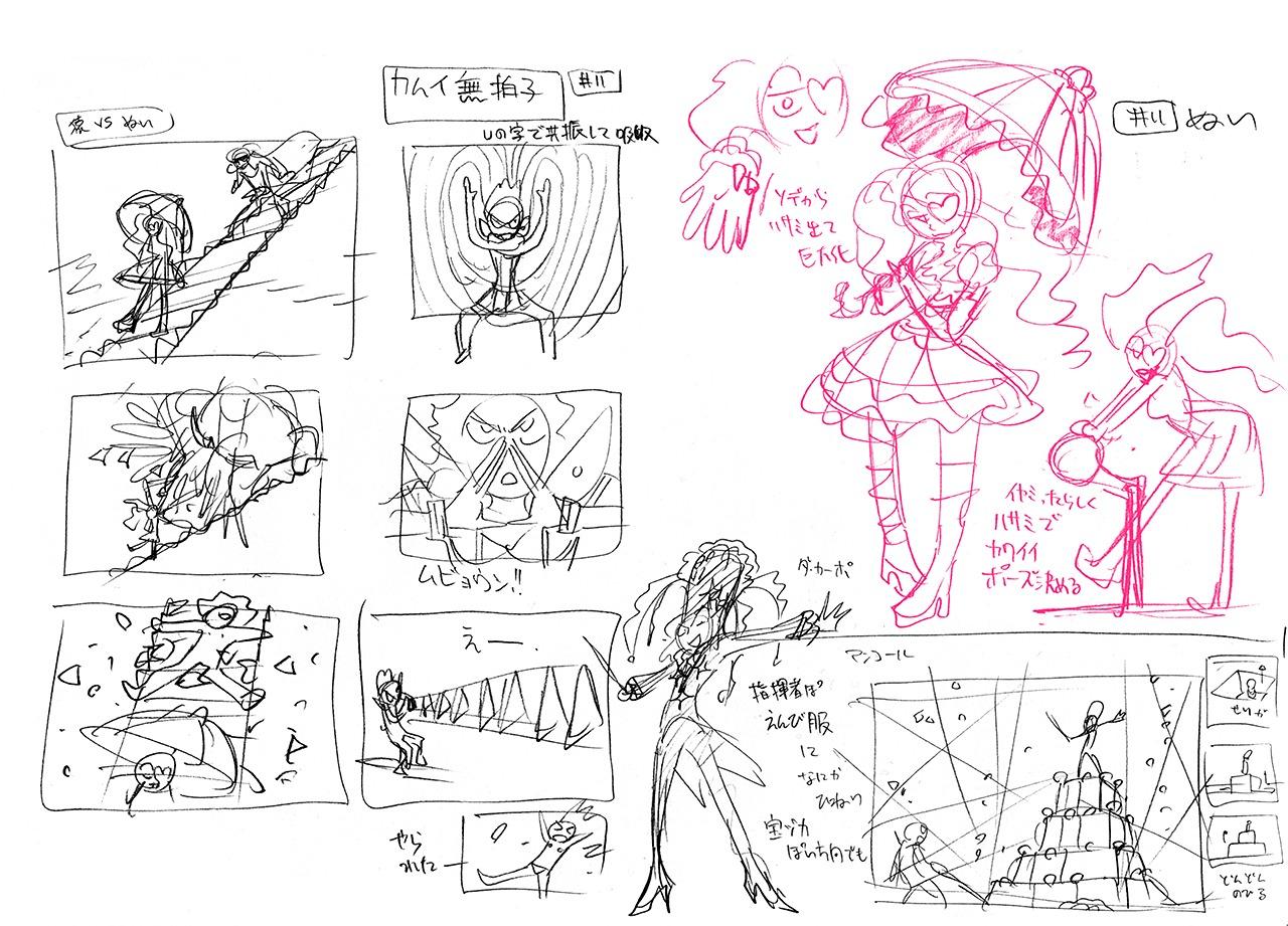 character_design hiroyuki_imaishi kill_la_kill settei storyboard