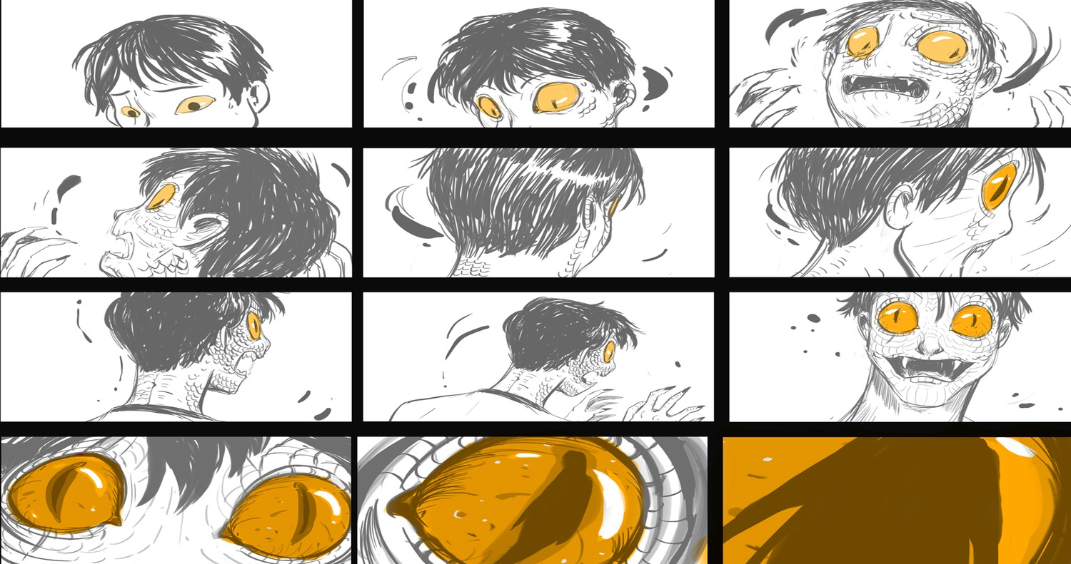 concept_art deadly_class mohamed_fadera morphing production_materials settei storyboard western