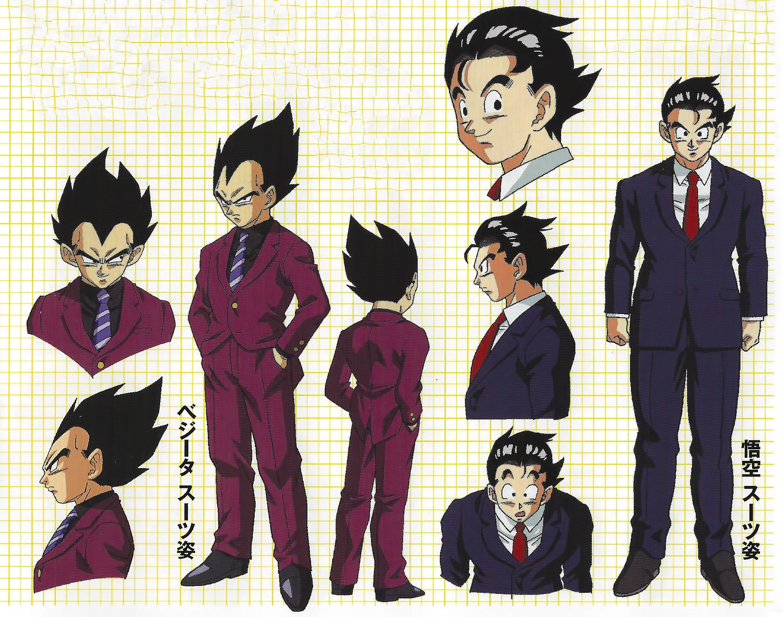 Character Design Editor : Tadayoshi yamamuro dragon ball series super